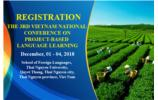 The 3rd National Conference on PBLL REGISTRATION